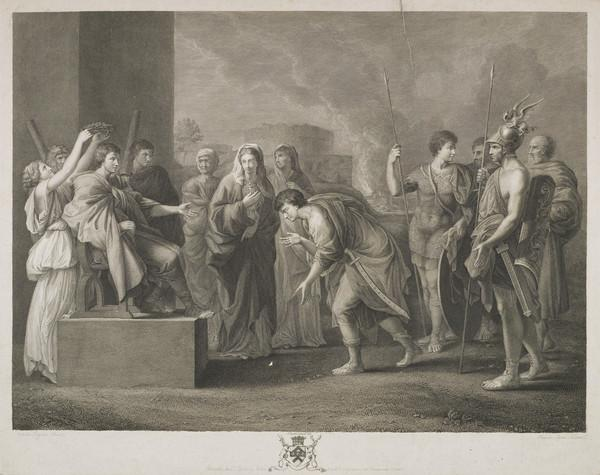 The Continence of Scipio (1784)