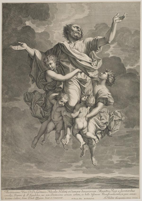 The Ecstasy of St Paul (About 1650)