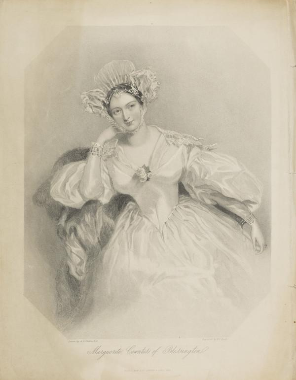 Margaret (Power), Countess of Blessington, 1789 - 1849. Authoress; 2nd wife of Charles Gardiner, 1st Earl of Blessington (Published 1844)