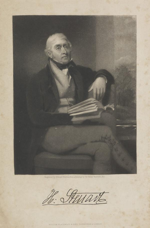 Sir Henry Seton Steuart of Allanbank, 1759 - 1836