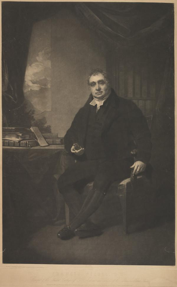 Francis Nicoll, 1770 - 1835. Principal of United Colleges of St Andrews