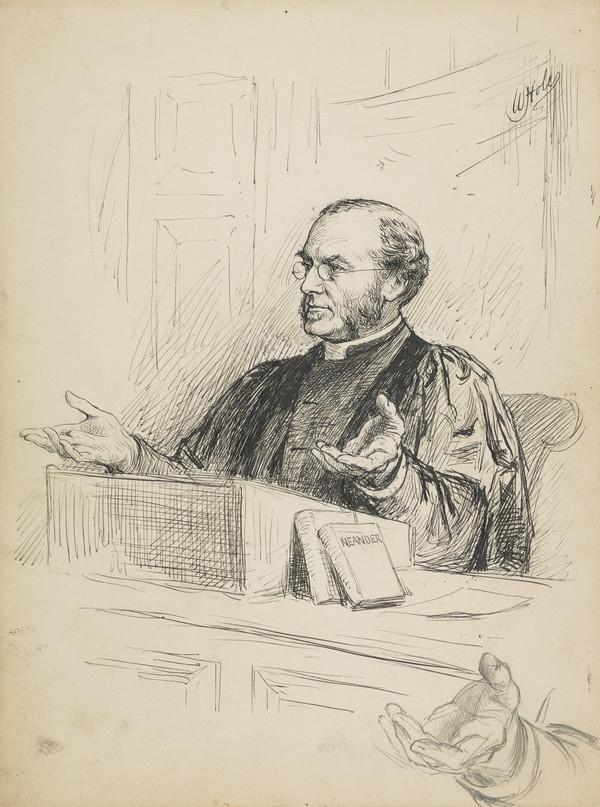 Professor Campbell Taylor, 1832 - 1922. Professor of Divinity and Ecclesiastical History at Edinburgh University (1884)
