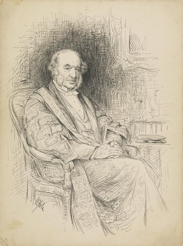 John Inglis, Lord Glencorse, 1810 - 1891. Lord Justice General of Scotland and Chancellor of Edinburgh University (1884)