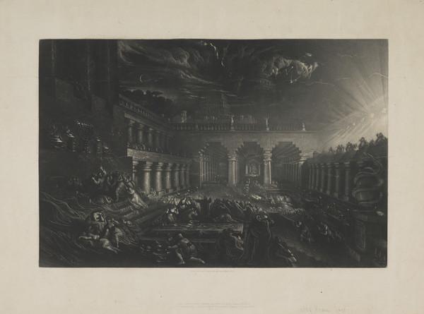 Belshazzar's Feast (smaller size)