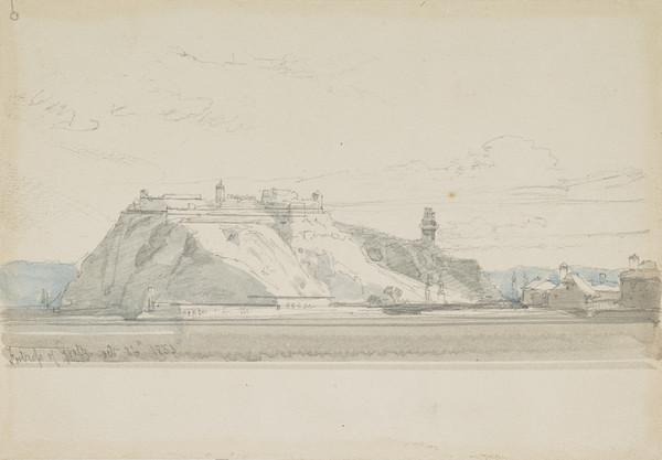 The Fortress of Gratz (Dated 1855)