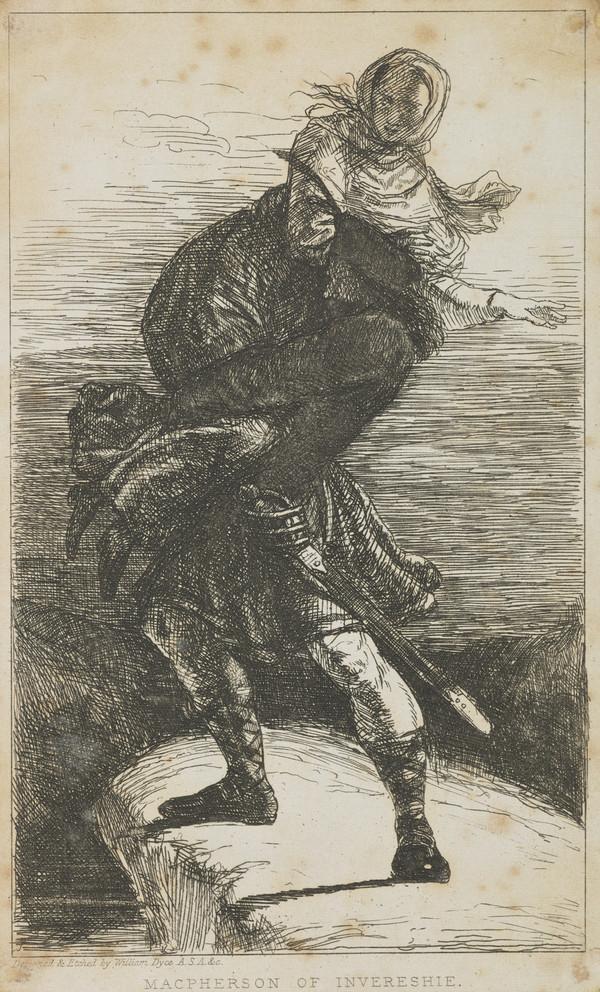 A Book Illustration: MacPherson of Invereshie