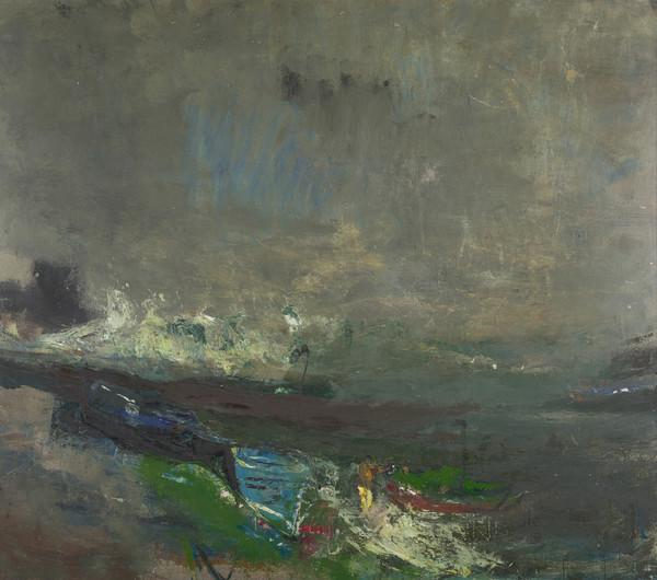 Boats on the Shore (About 1963)