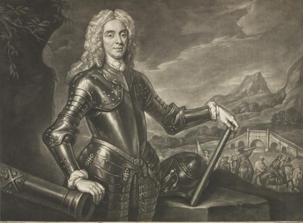 Field-Marshal George Wade, 1673 - 1748. Commander-in-chief in Scotland (1736)