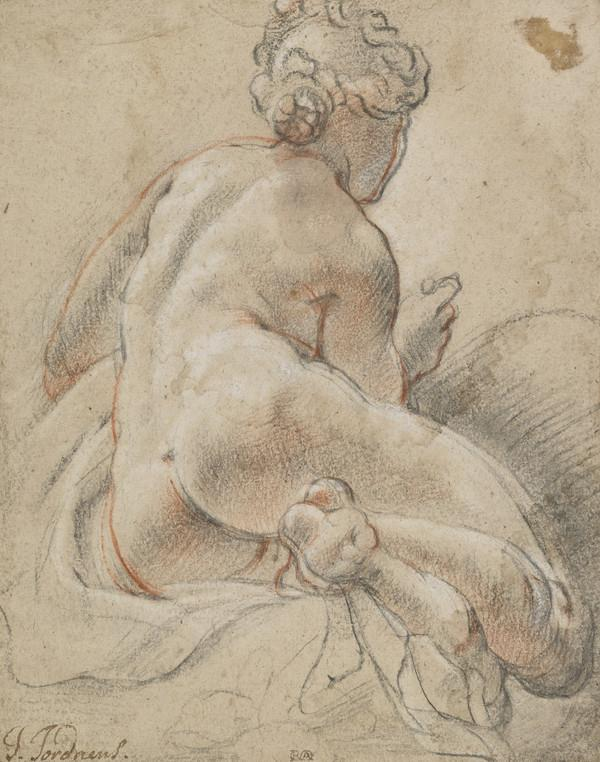 Female Nude, Seen from the Back (About 1641)
