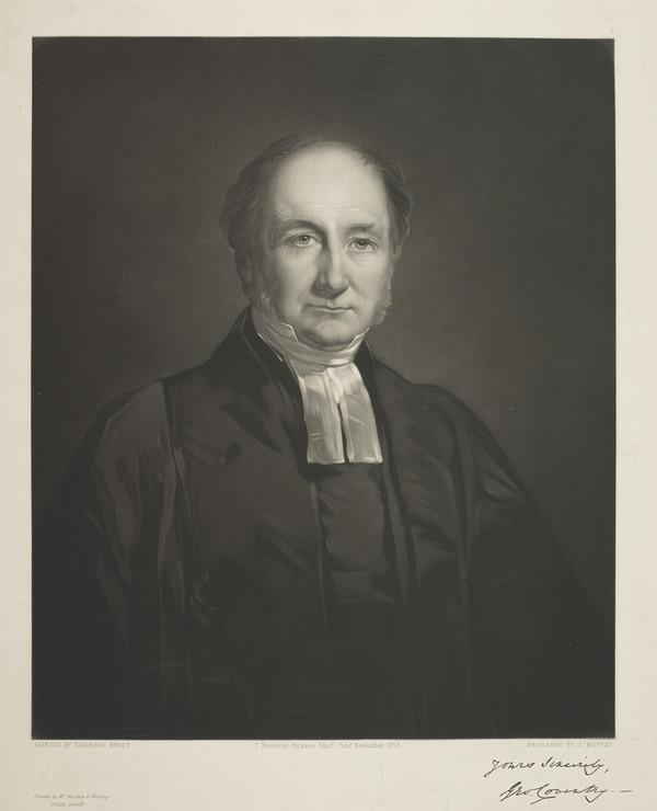 Rev. George Coventry (Published 1855)