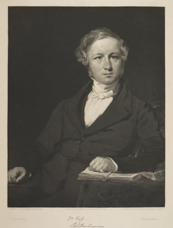 Robert Buchanan, 1785 - 1873. Professor of Logic at Glasgow University (1845)