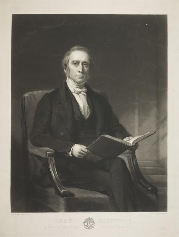 Lord Robert Handyside, 1798-1858. Scottish judge