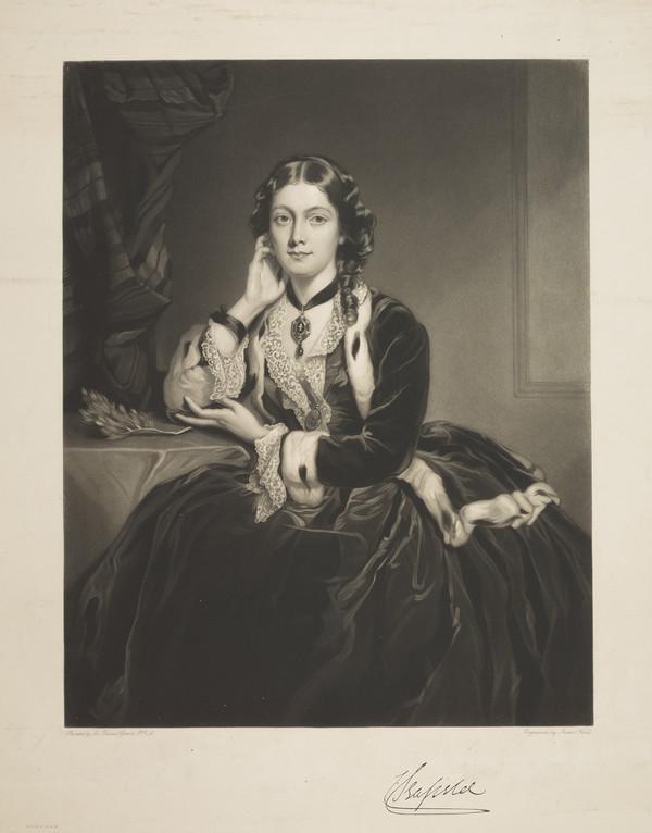 The Honourable Caroline Stuart, Countess of Seafield. wife of the 7th Earl of Seafield