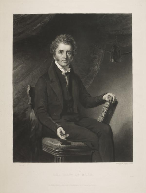 Rev. William Muir, 1787 - 1869. St Stephen's Church (Published 1840)
