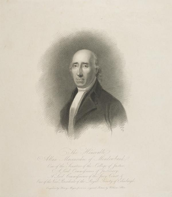 Allan Maconochie, 1st Lord Meadowbank, 1748 - 1816. Judge