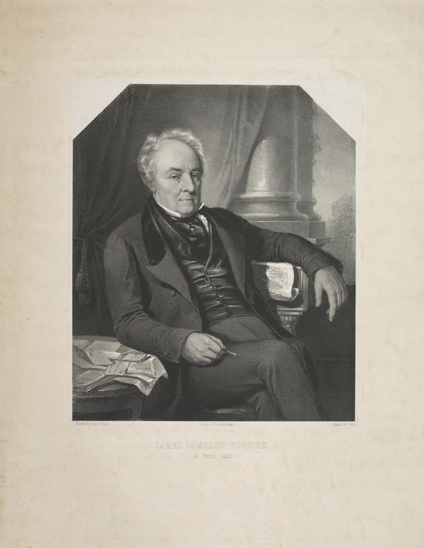 James Lumsden, 1788 - 1856. Of Yoker Lodge
