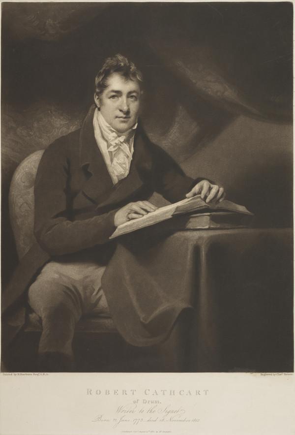 Robert Cathcart, 1773 - 1812. Writer to the Signet