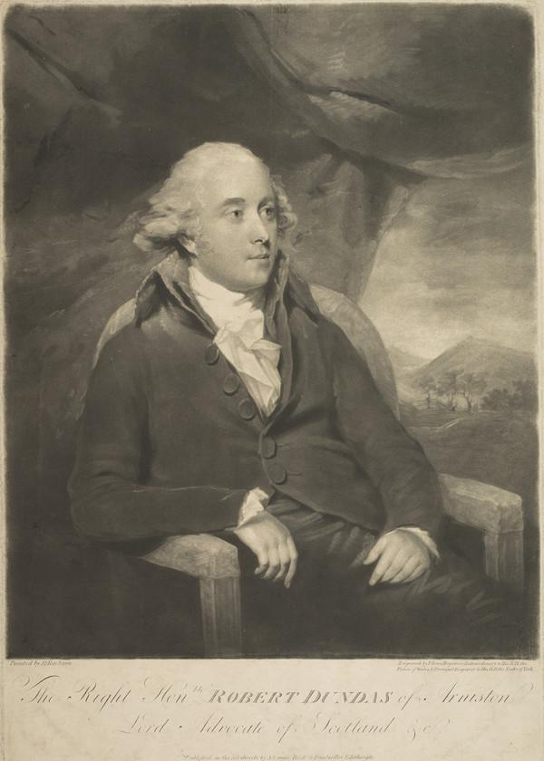Robert Dundas of Arniston, 1758 - 1819. Judge and chief baron of the exchequer in Scotland