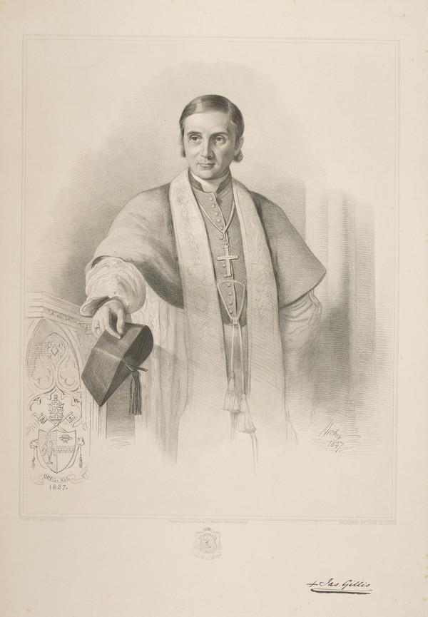 James Gillis, 1802 - 1864. Catholic bishop of Lymira in partibus