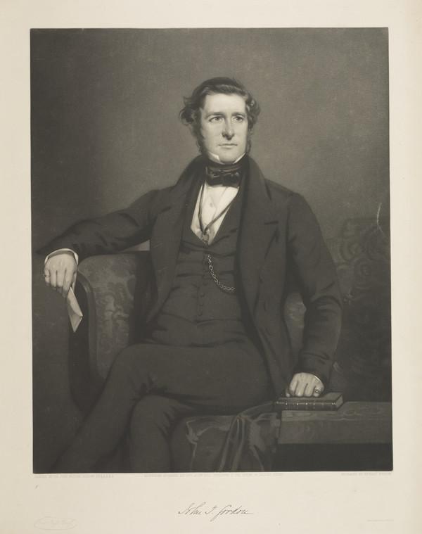 John Thomson Gordon, 1813 - 1865. Advocate; Sheriff of Aberdeen and Midlothian