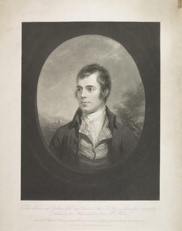 Robert Burns, 1759 - 1796. Poet (Published 1842)