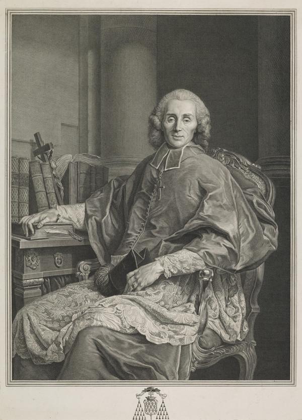 Portrait of Claude Marc Antoine D'Apchon, Bishop of Dijon