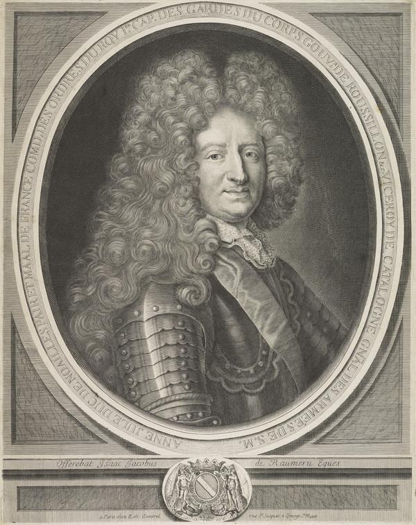 Anne Jules, Duc de Noailles, 1650 - 1708. Marshal of France