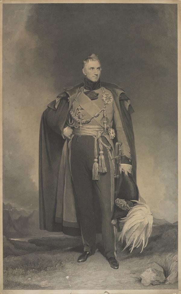 Lieutenant-General Sir George Murray, 1772 - 1846. Soldier and statesman
