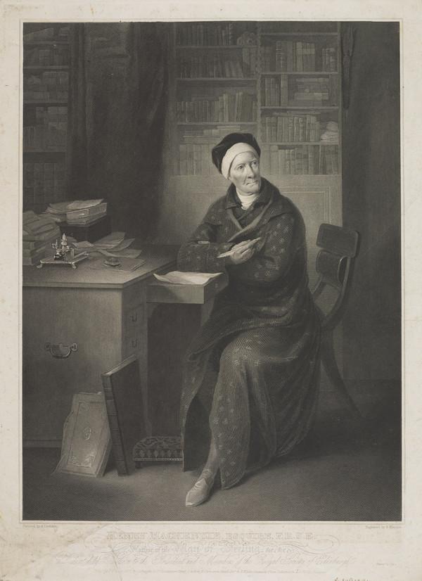 Henry Mackenzie, 1745 - 1831. Novelist and essayist (Published 1822)