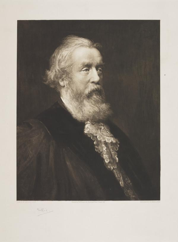 Rev. John Tulloch, 1823 - 1886. Theologian and Principal of St Andrews University (Published 1886)