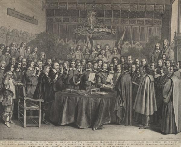 Treaty of Munster or Westphalia, 1648 [Group]