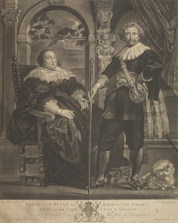 Frederick Henry, Prince of Orange, 1584 - 1647 (Published 1767)