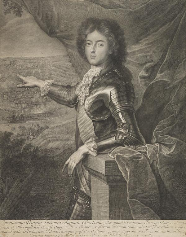 Louis Auguste de Bourbon, Duc de Maine, 1670 - 1736. Natural son of Louis XIV and the Marquise de Montespan