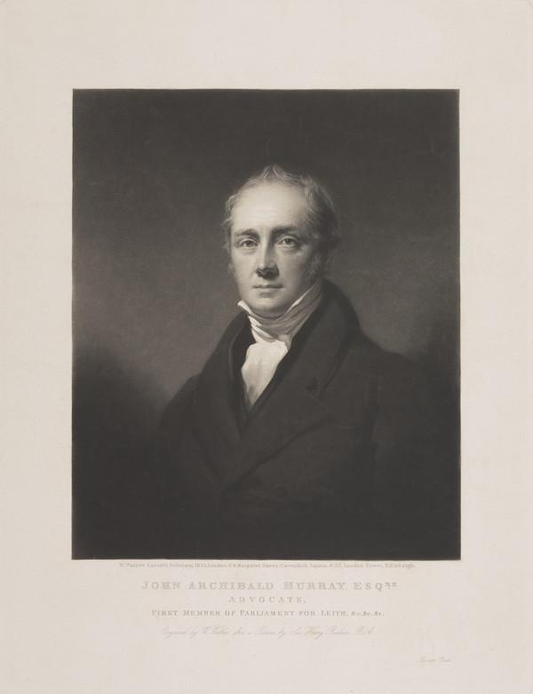 Sir John Archibald Murray, Lord Murray, 1779 - 1859. Judge