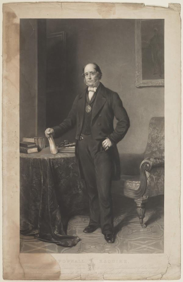 Henry Pownall, Esq., Chairman of the Middlesex Quarter Sessions and Lieutenant of the County