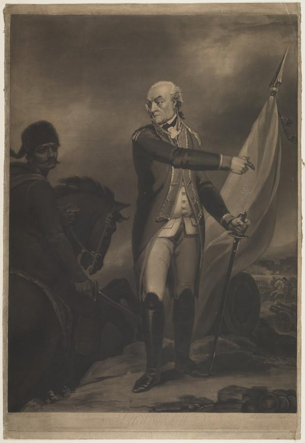 Prince Alexander Vasilievich Italysky, Count Suvorov, 1729 - 1800. Russian field-marshal (Published 1800)