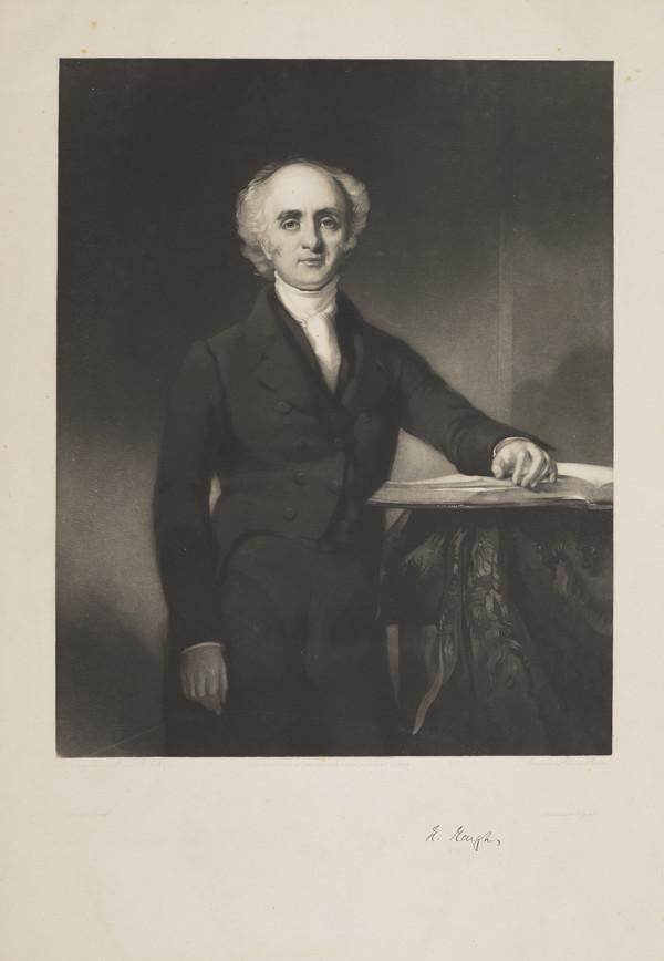 Rev. Dr Hugh Heugh, 1782 - 1846. Of Stirling and Regent Place, Glasgow; United Presbyterian minister