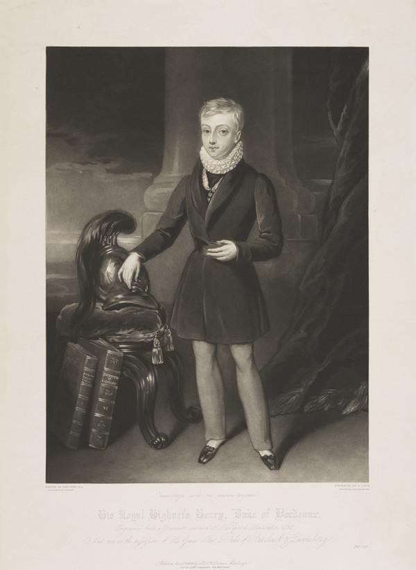 His Royal Highness Henry, Duke of Bordeaux