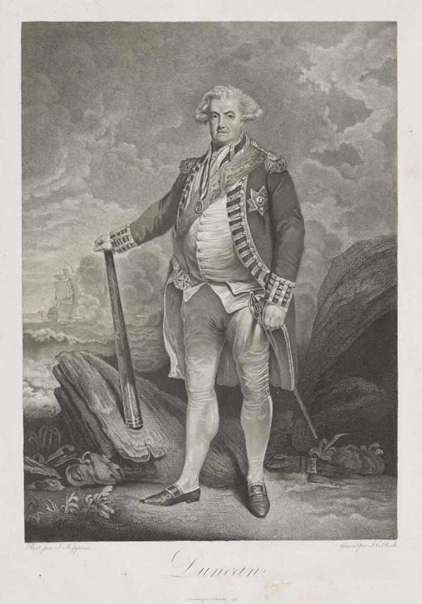 Adam Duncan, 1st Viscount Duncan of Camperdown, 1731 - 1804. Admiral (1799)