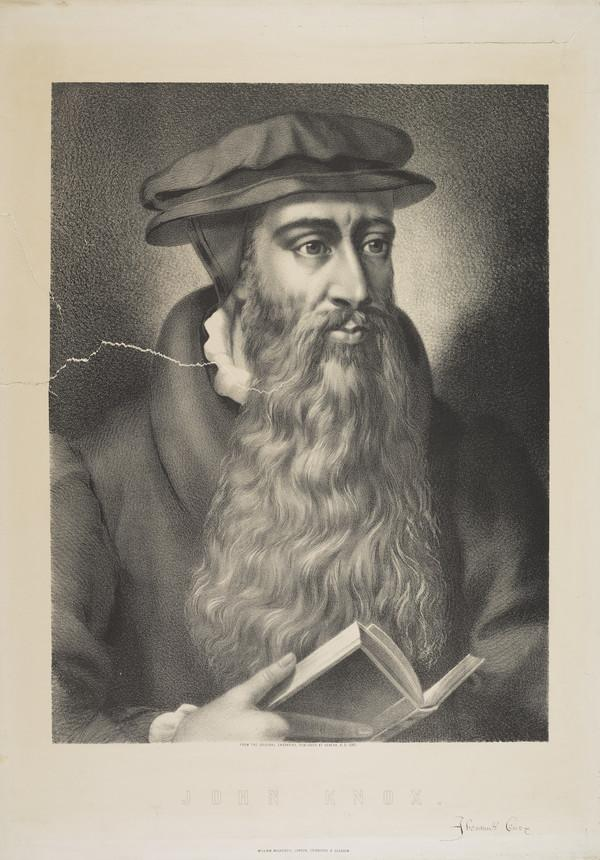 John Knox, 1505 - 1572. Reformer and historian (Published 1580)