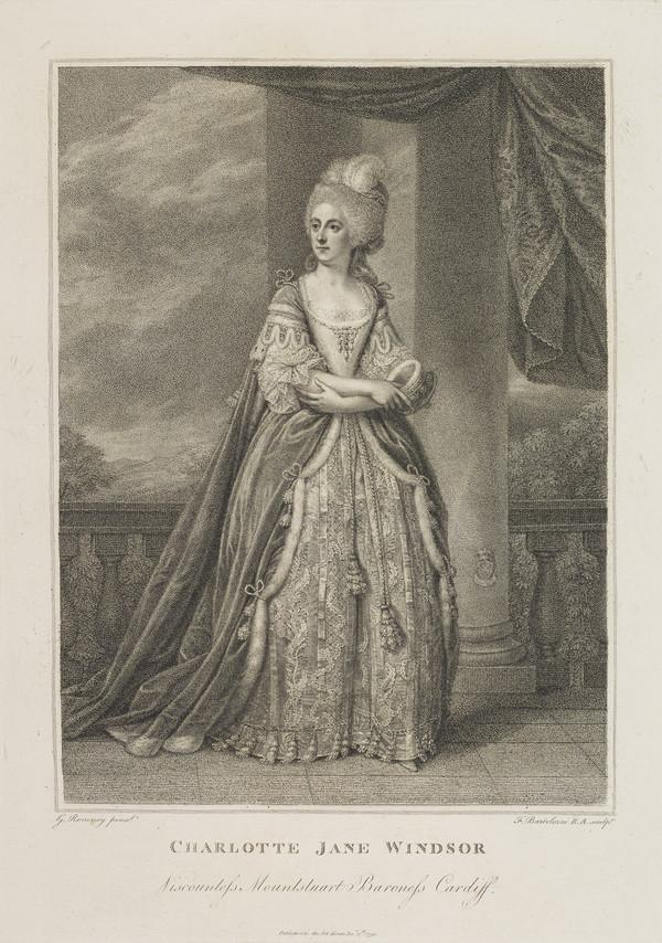 Charlotte Jane Hickman, Marchioness of Bute, d. 1800. 1st wife of the 1st Marquess of Bute