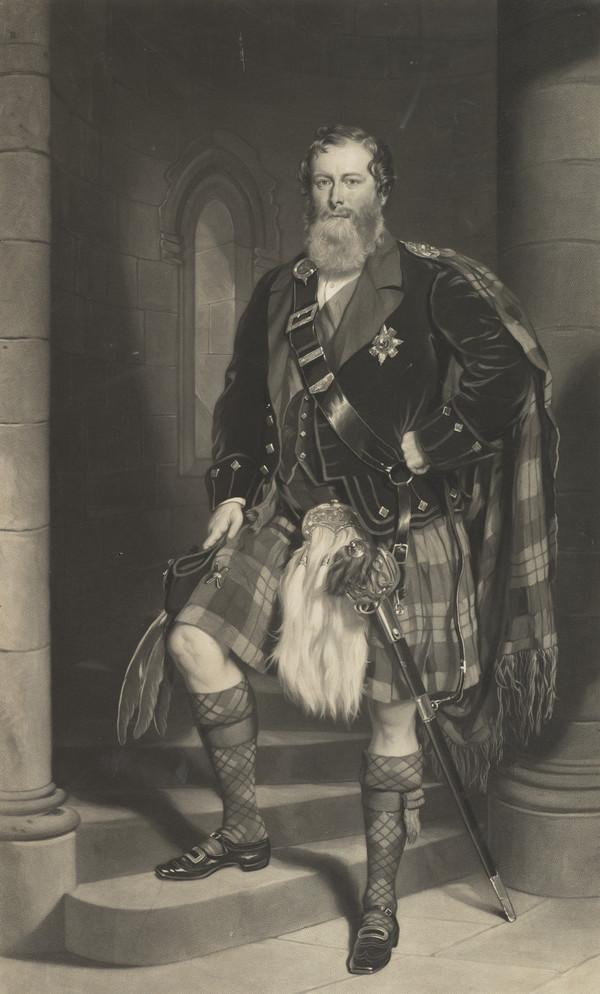 James Duff, 5th Earl of Fife, 1814 - 1879. Lord Lieutenant of the County of Banff