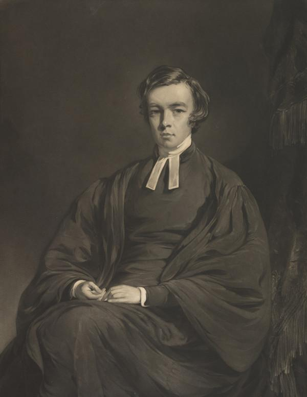 John Caird, 1820 - 1898. Principal and Vice-Chancellor of Glasgow University (Published 1848)