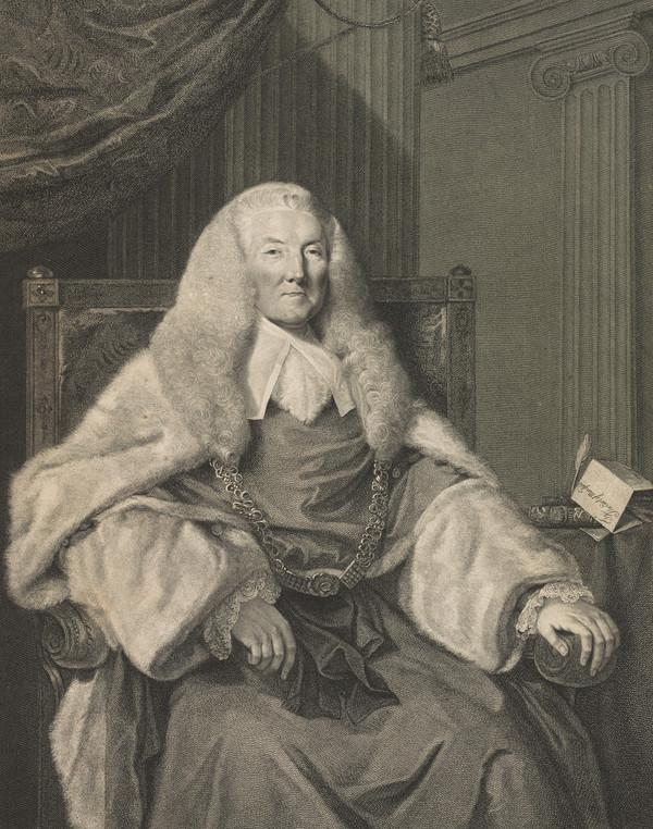 William Murray, 1st Earl of Mansfield, 1705 - 1793. Lord Chief Justice (Published 1786)