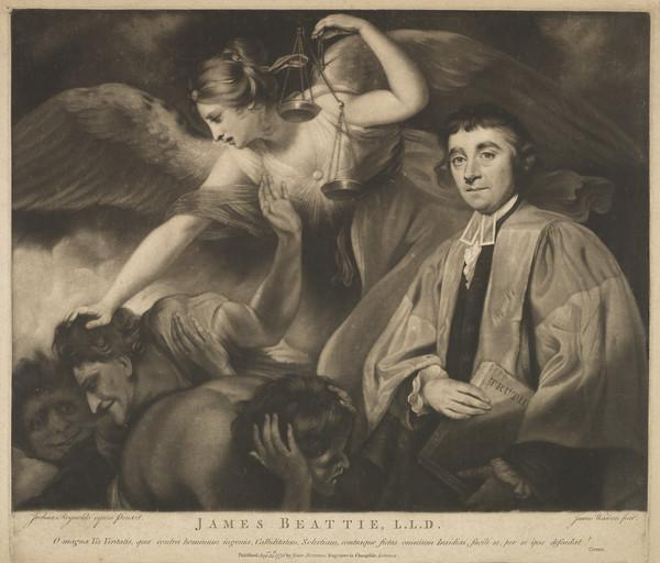 James Beattie, 1735 - 1803. Poet and moral philosopher (Published 1775)