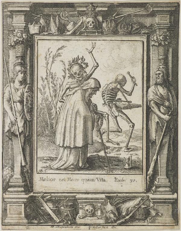 Plate from Dance of Death series