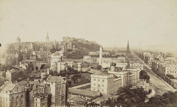 Edinburgh from the Calton Hill