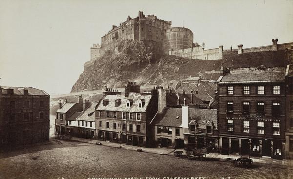 The Castle from the Grassmarket, Edinburgh