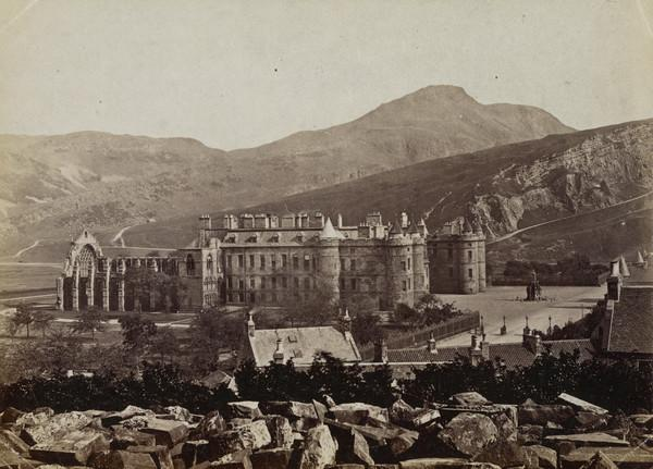 Holyrood Palace and Arthurs Seat, Edinburgh