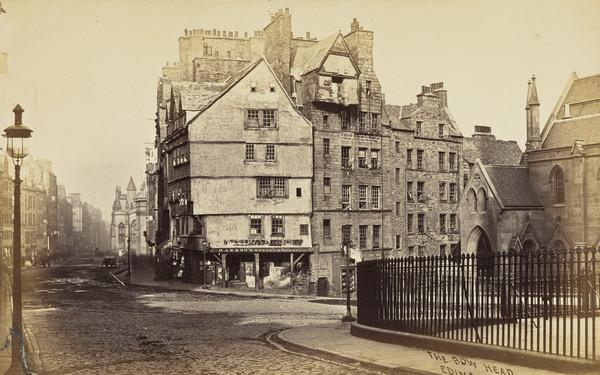 The West Bow, High Street, Edinburgh 1869